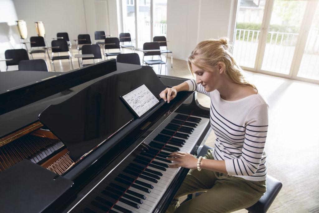 Digitalisierung Tablet Samsung Musik Lernen