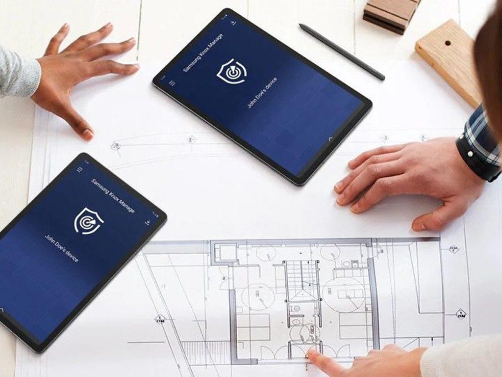 Digitalisierung Tablet Computer Samsung Knox IT Planung