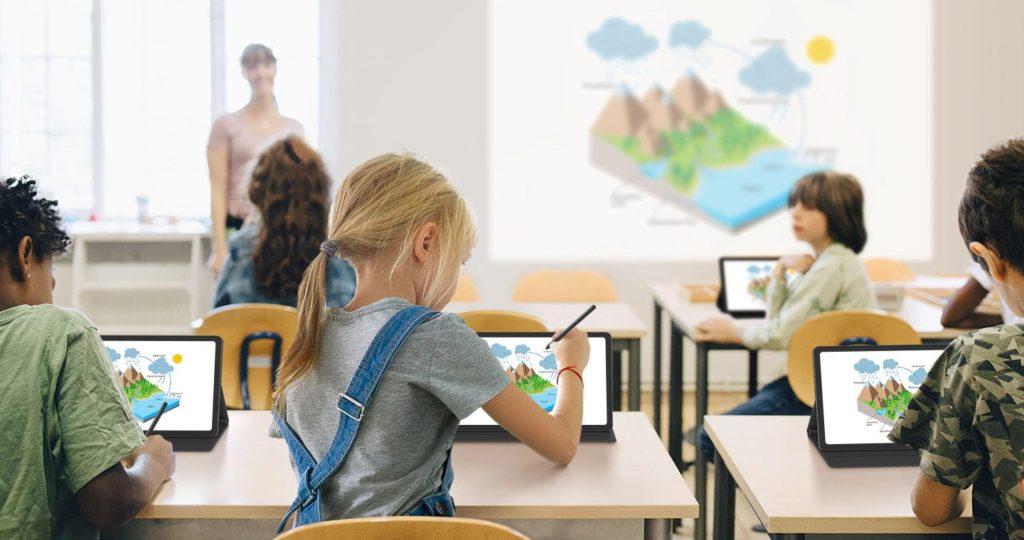 Digitalisierung Tablet Computer Samsung Schule IT